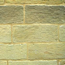 An example of a completed Ashlar repointing